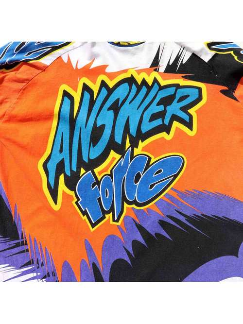 90's ANSWER FORCE モトクロス レーシングTシャツ [About XL]