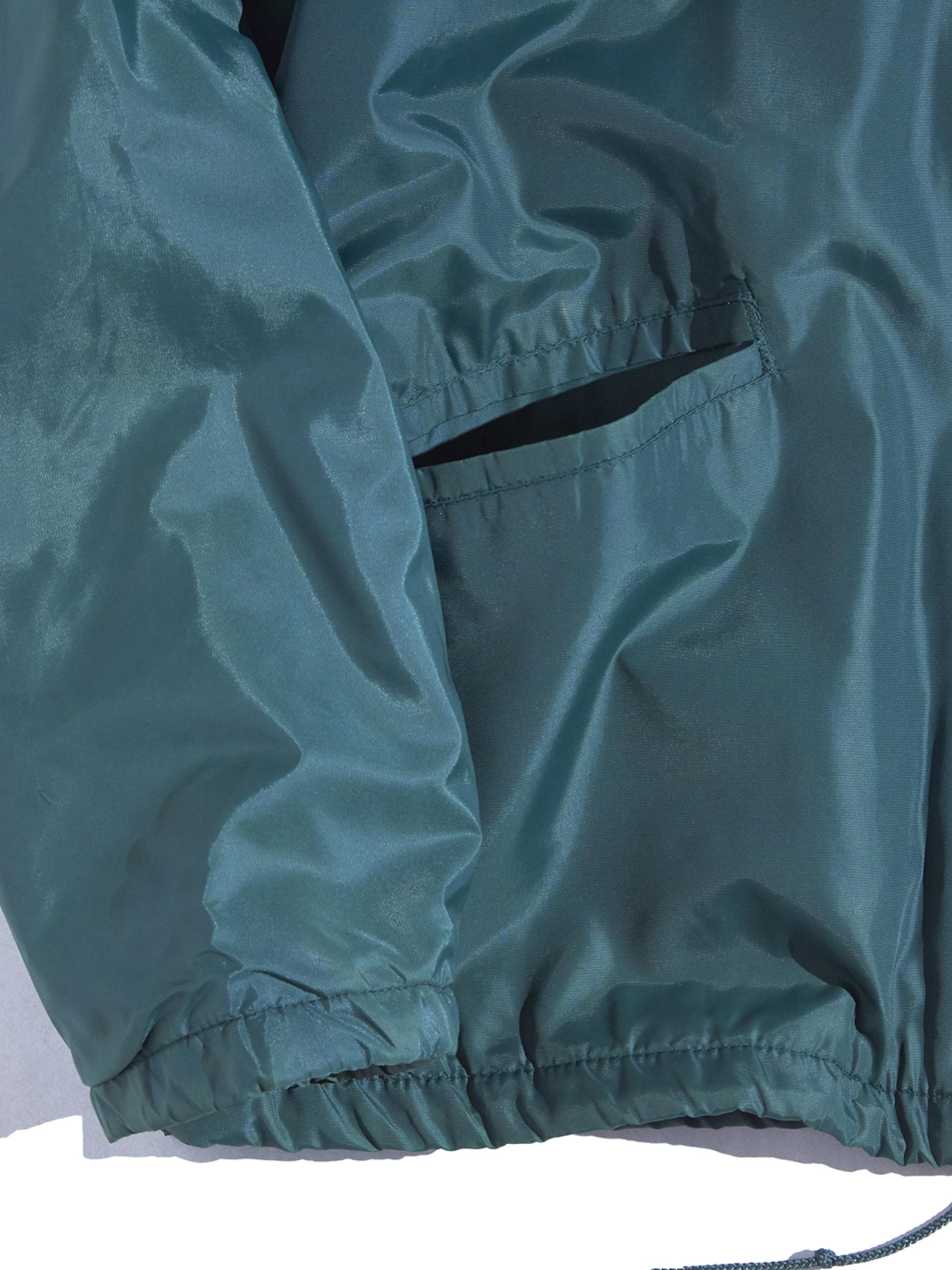 "1970s ""L.L.Bean"" nylon coach jacket -GREEN-"