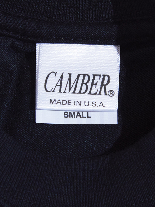 "NOS  ""CAMBER"" 8oz. pocket tee -BLACK-"