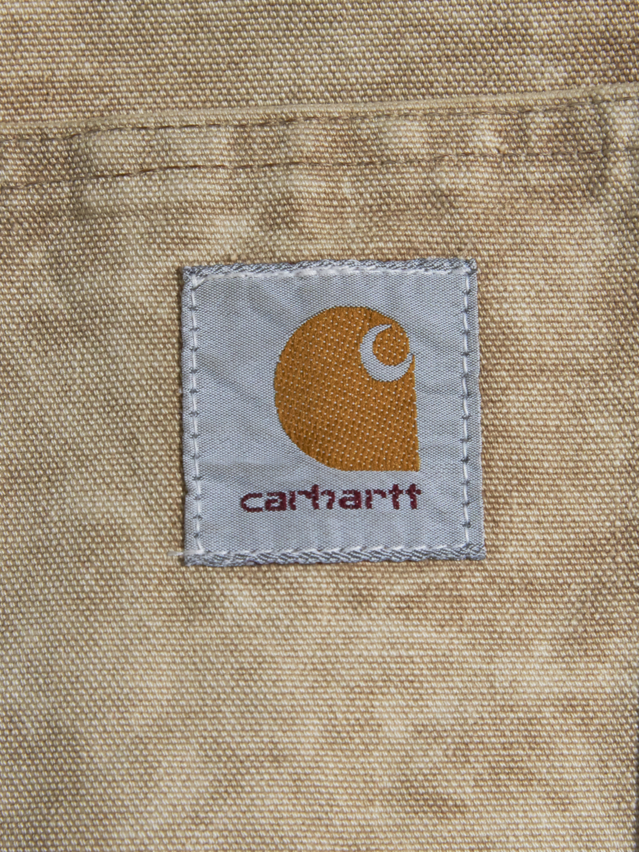 "1970s ""Carhartt"" duck coverall -BROWN-"