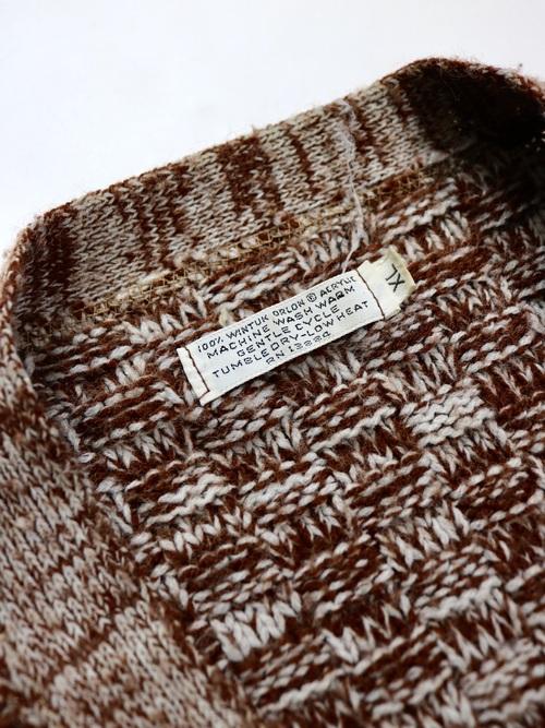 1960~70's Acrylic Knit Cardigan