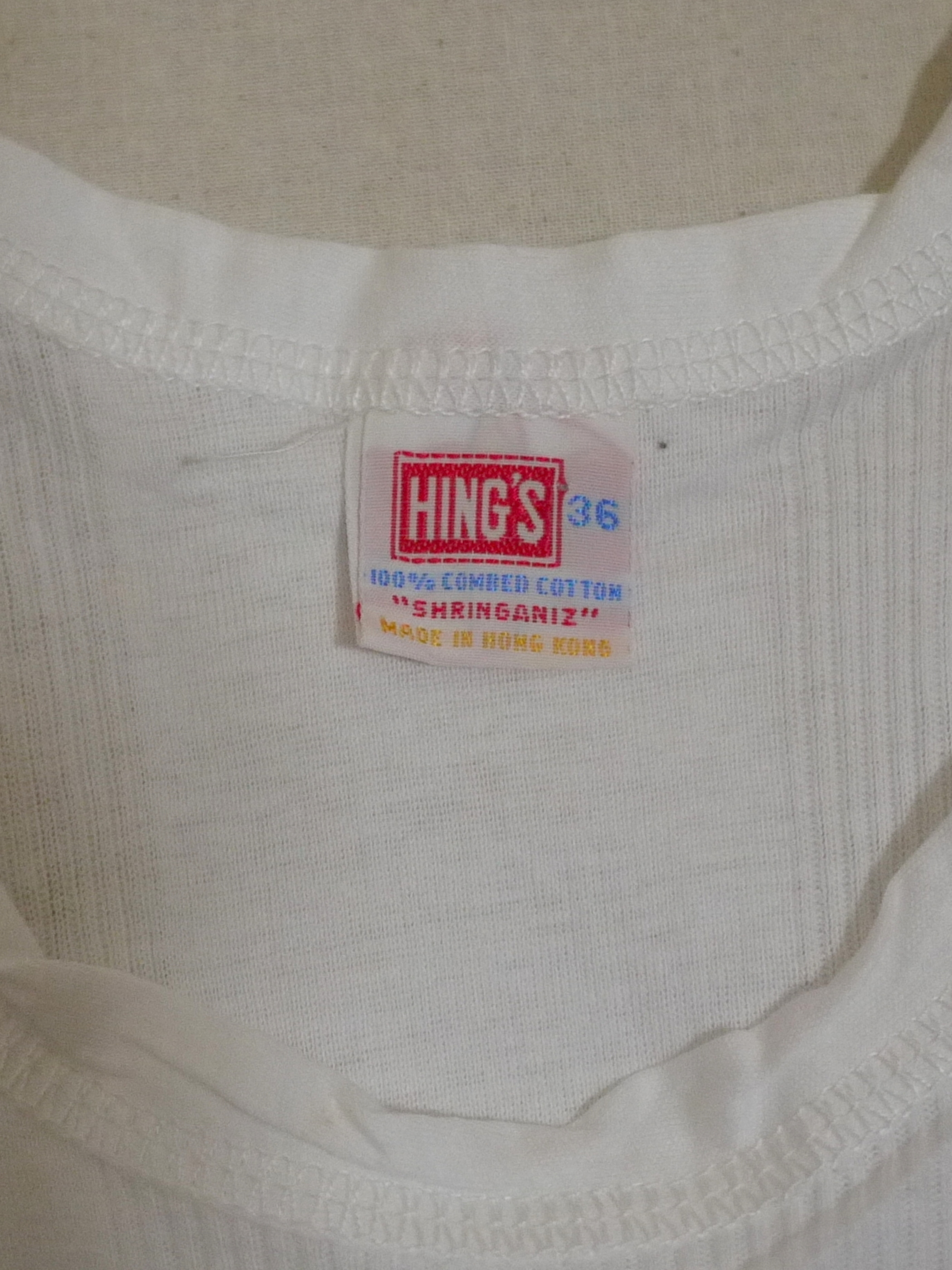 HING'S Tanktop Size36