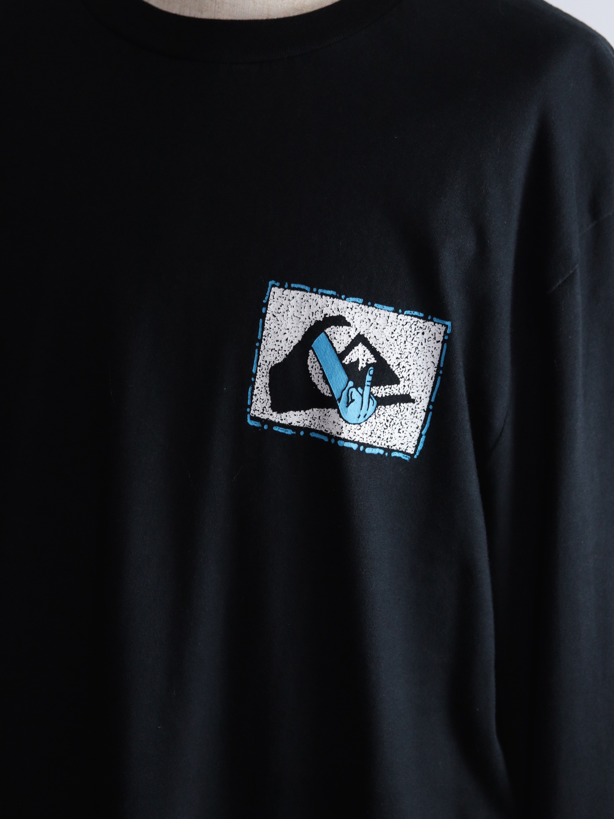 Quik Silver L/S Print T-shirts Made in India