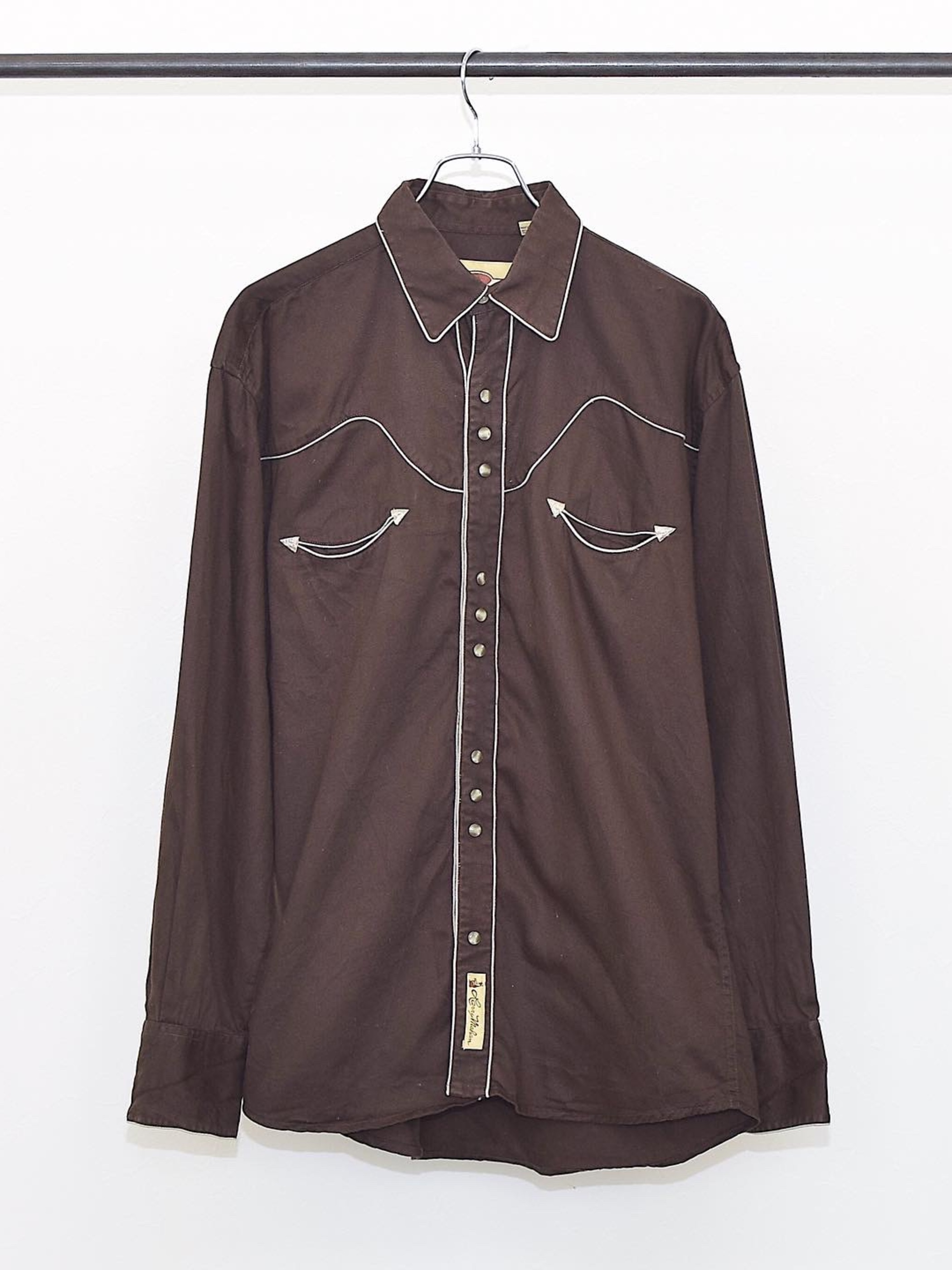 Vintage【Larry Mahan】Western Shirt