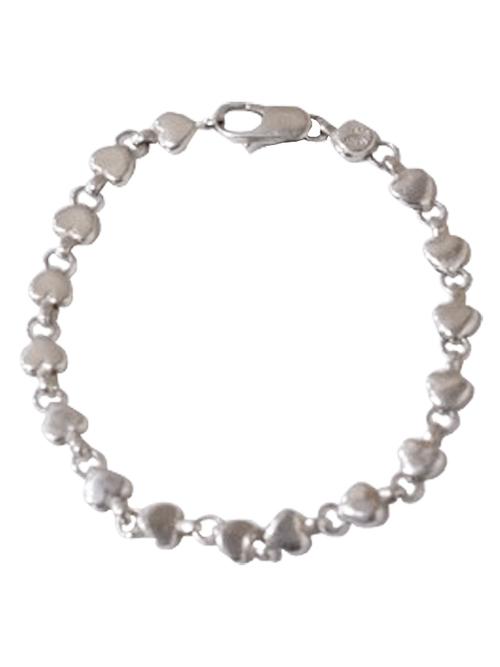Used / Tiffany & Co. / Old Bracelet / Sterling Silver 925 / Heart