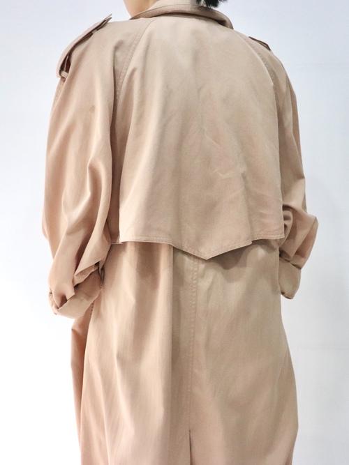 1980's Overdye Trench coat