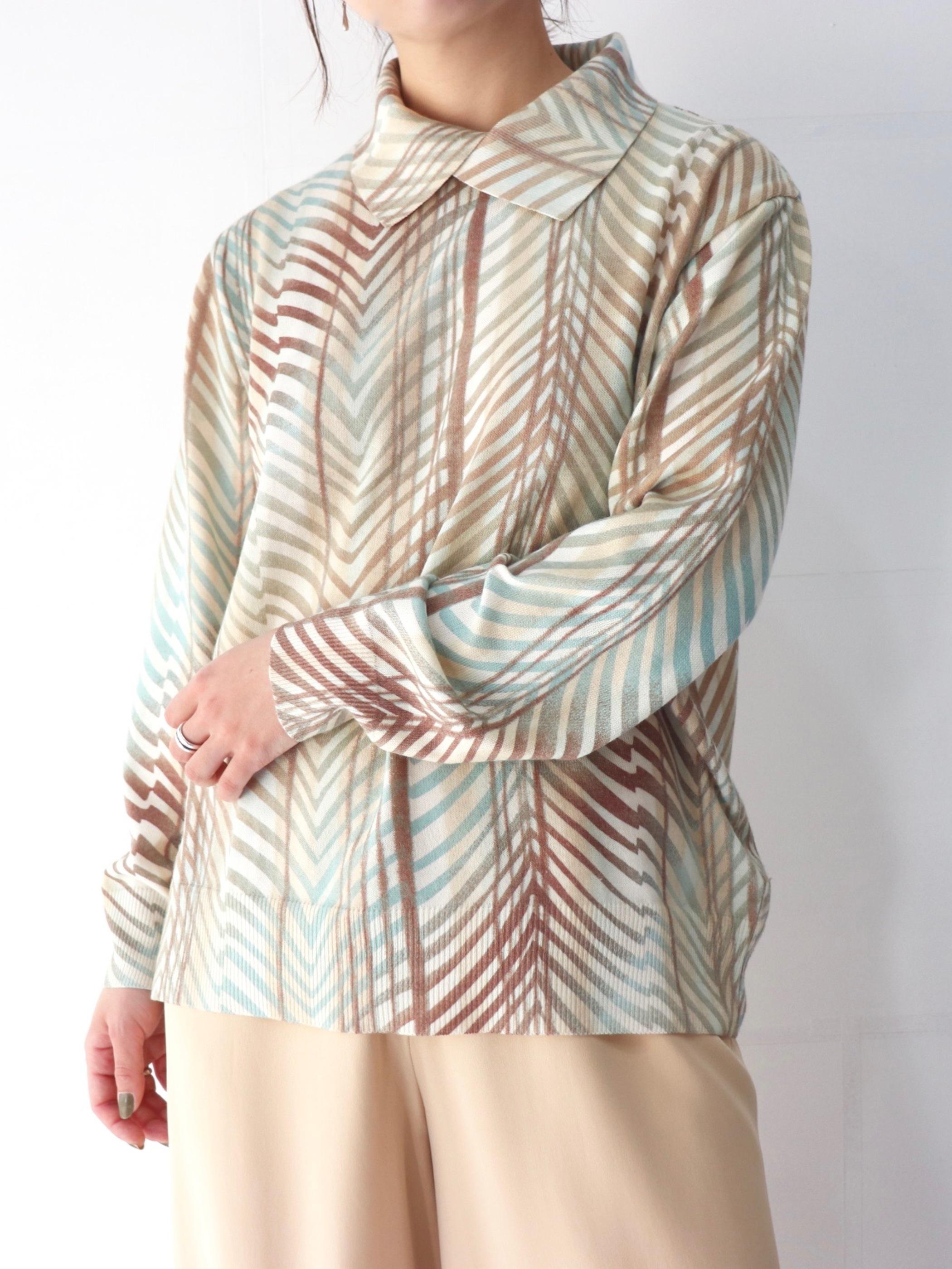 Euro summer knit tops