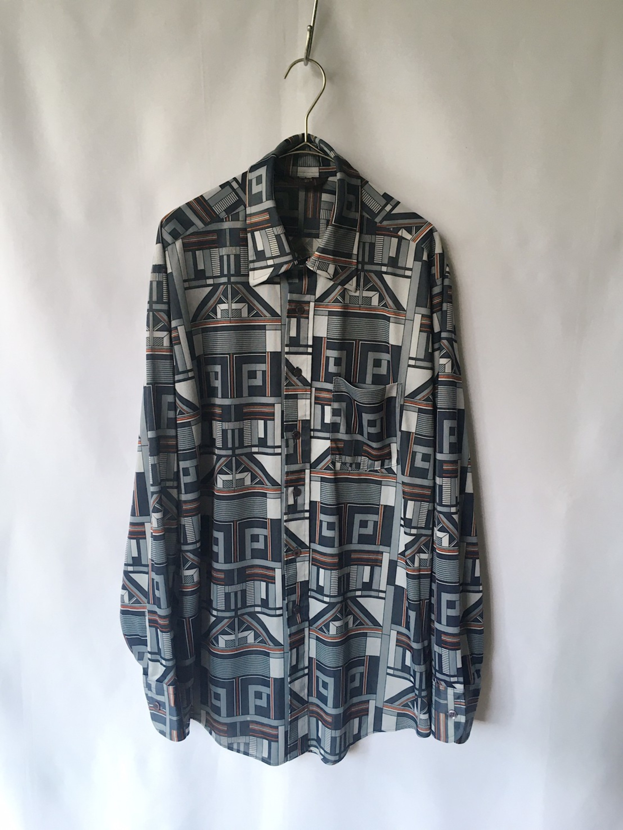 polyester shirt 80s