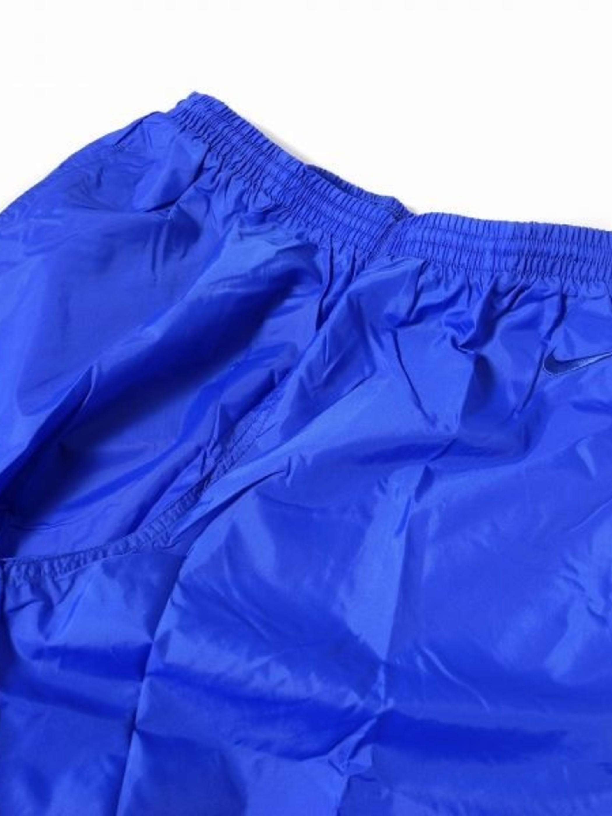 DEADSTOCK NIKE NYLON PANTS BLUE