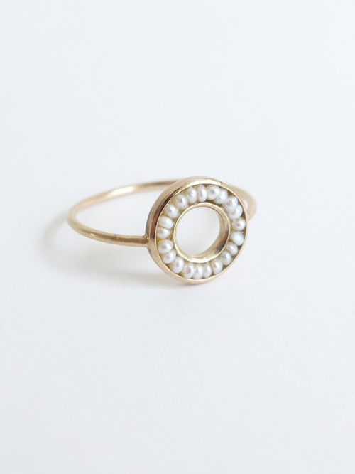 %e2%97%8fpearl ring mini n