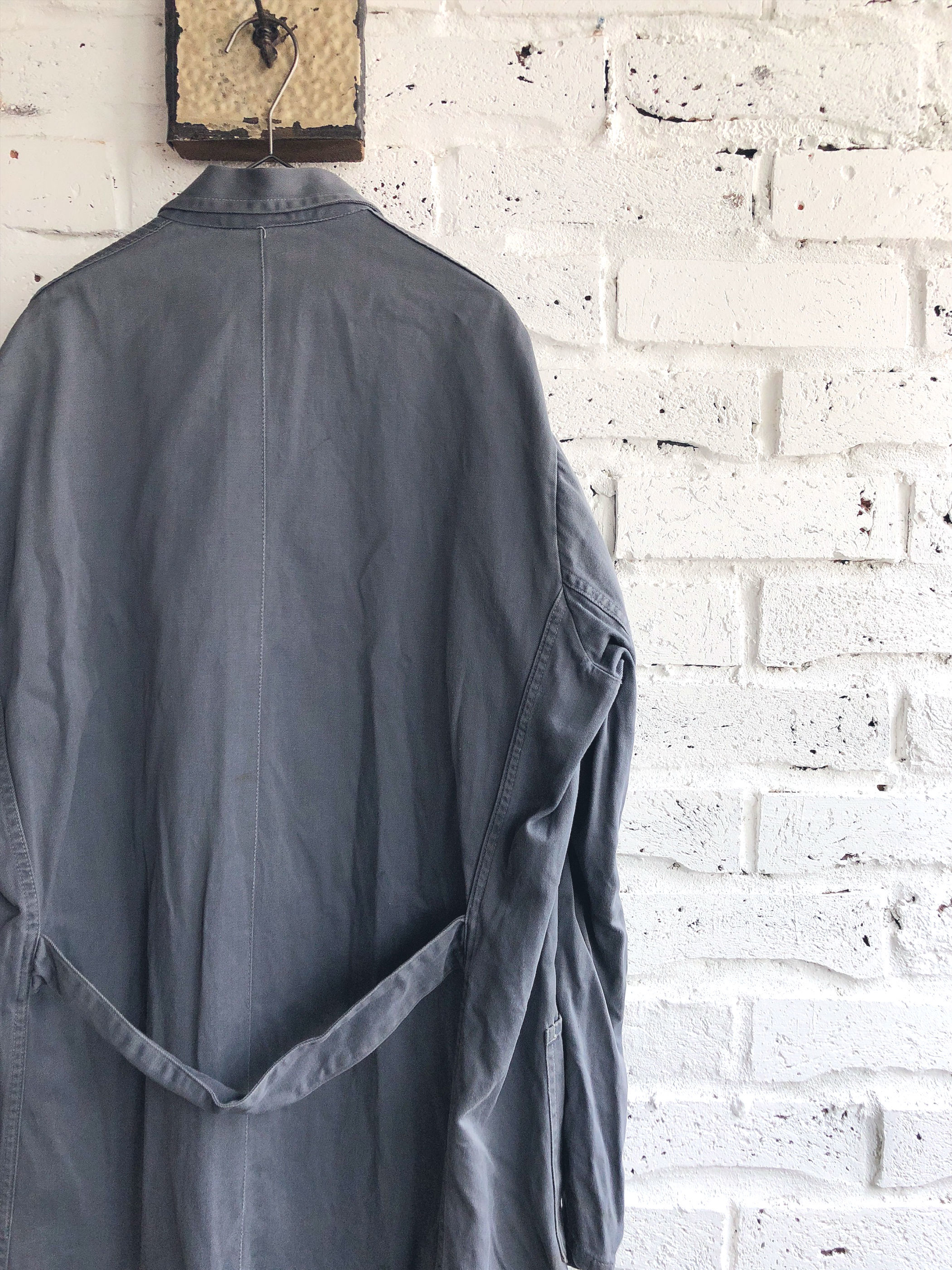 Vintage 60's〜 Unknown/Euro Work Coat /Dark Gray