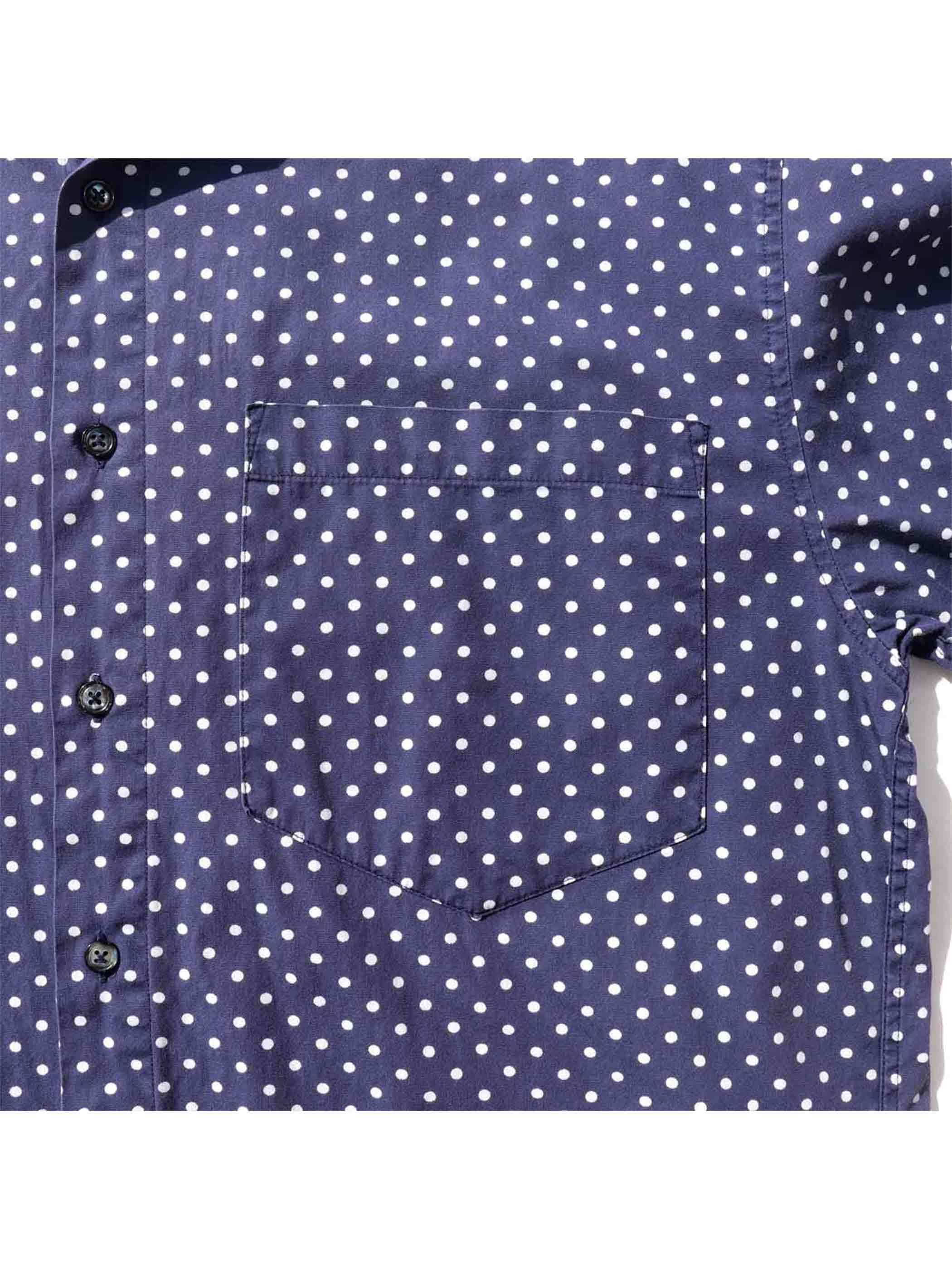 90's GAP Dot Print L/S Shirt [M]