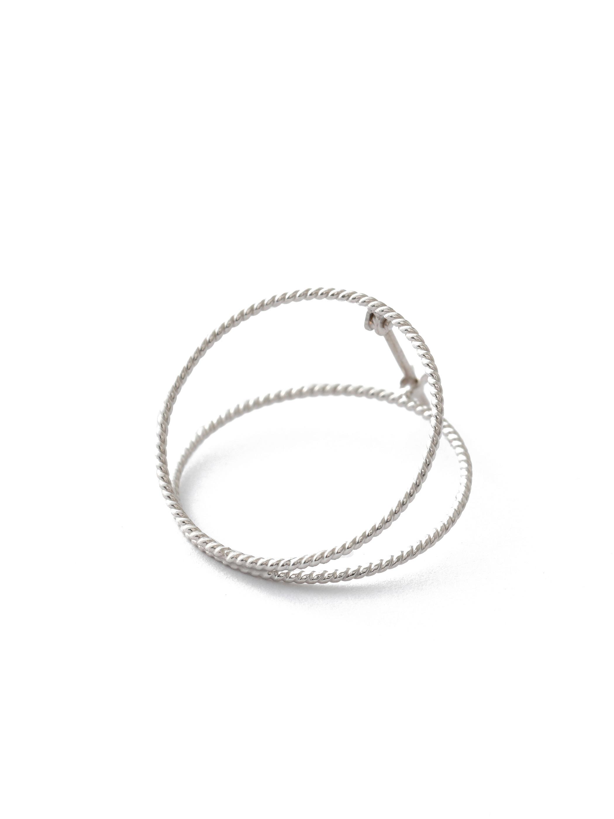 CLIP SPIRAL L silver