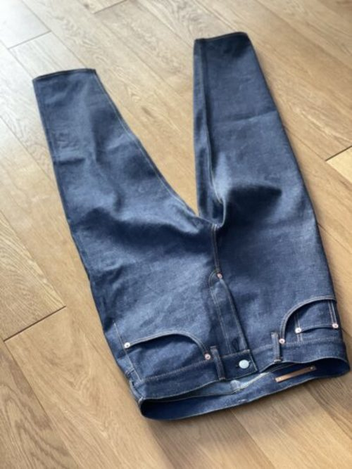 "Scye × The▲HC ""Pegtop Jean"""