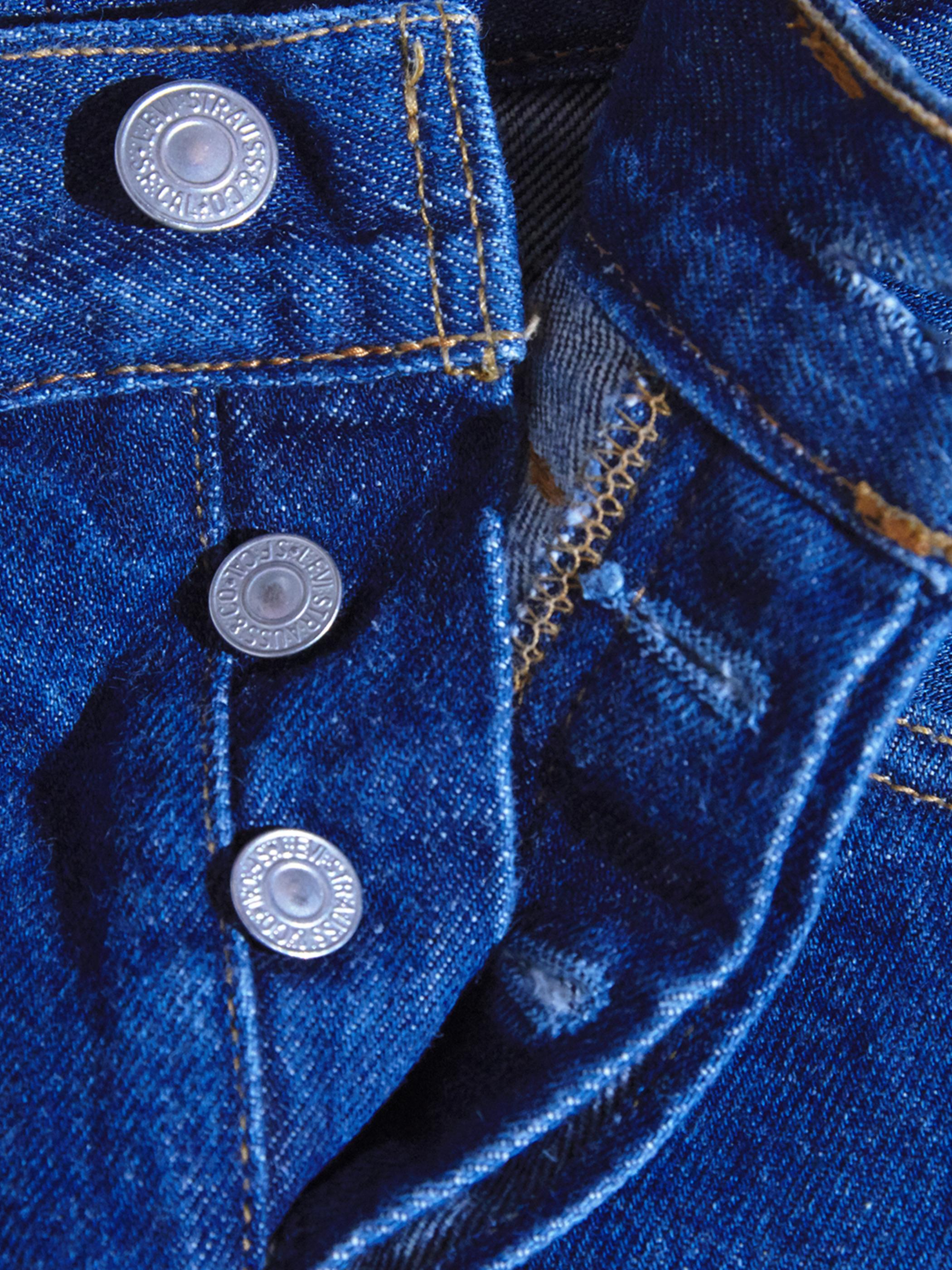 "1990s ""Levi's"" Lot.501 custom tuck denim pants -INDIGO-"