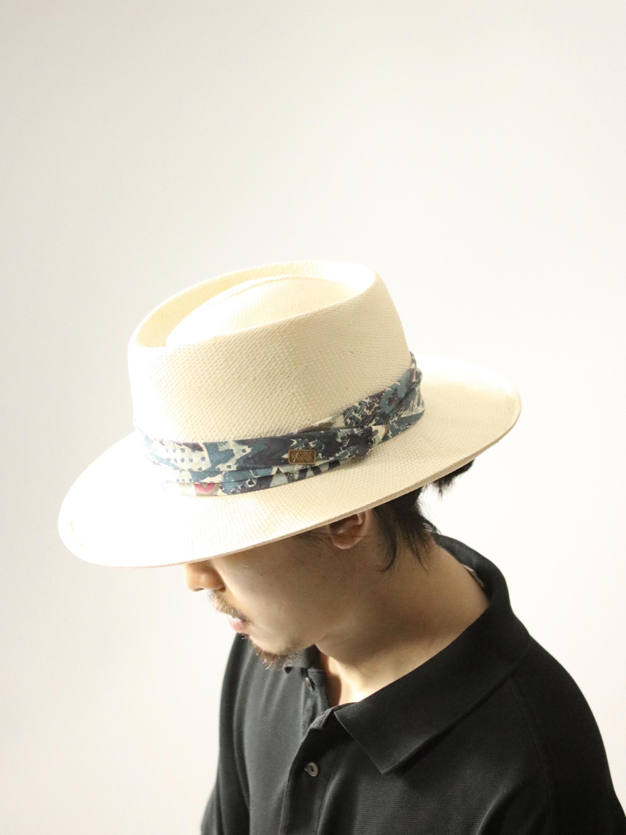 Vintage KANGOL Straw Hat