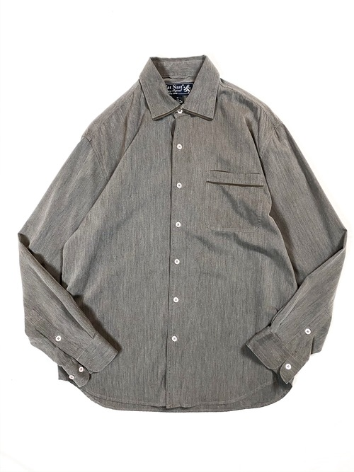 Nat Nast silk/cotton shirt