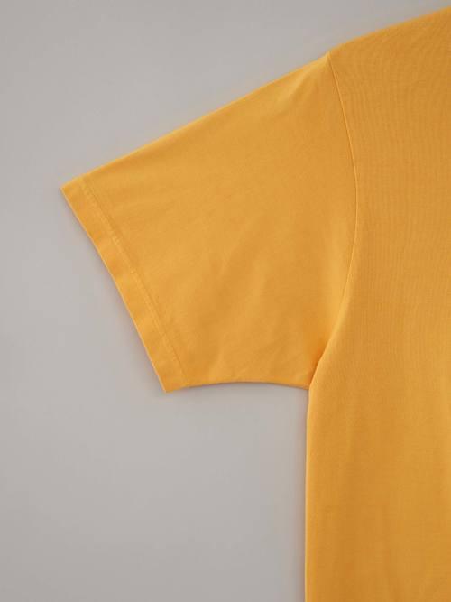 丸胴Tシャツ #08ターメリック
