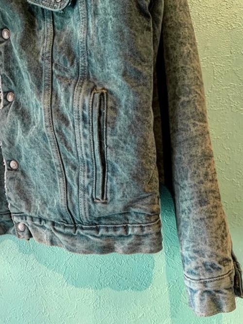 80s Levi's デニム ボアジャケット