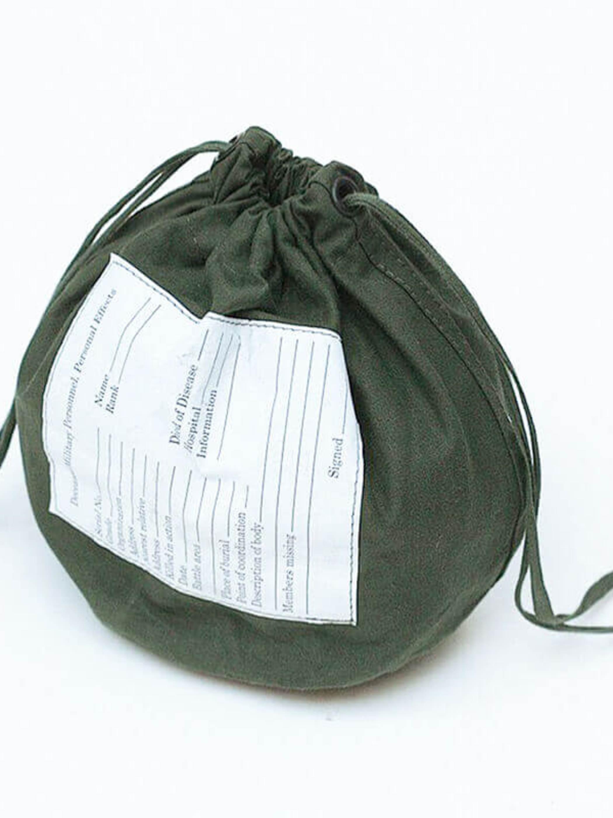 US Military / 1980'sDeadstock / Cotton Bag