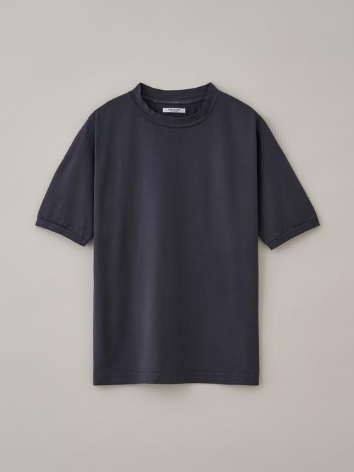 レディースクルーネックTシャツ #05バンブーチャコール