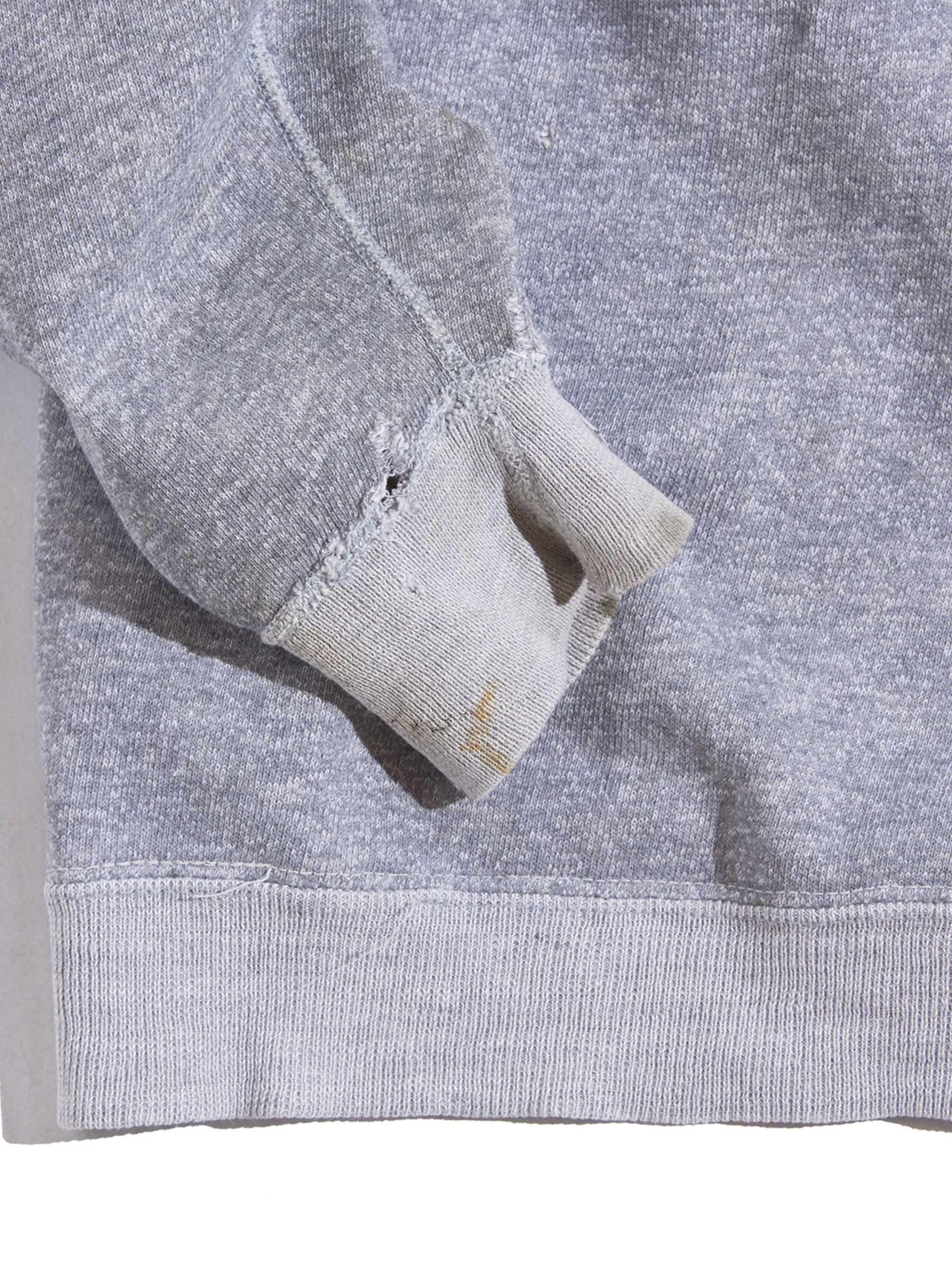 "1960s ""SEARS"" all cotton sweat -GREY-"