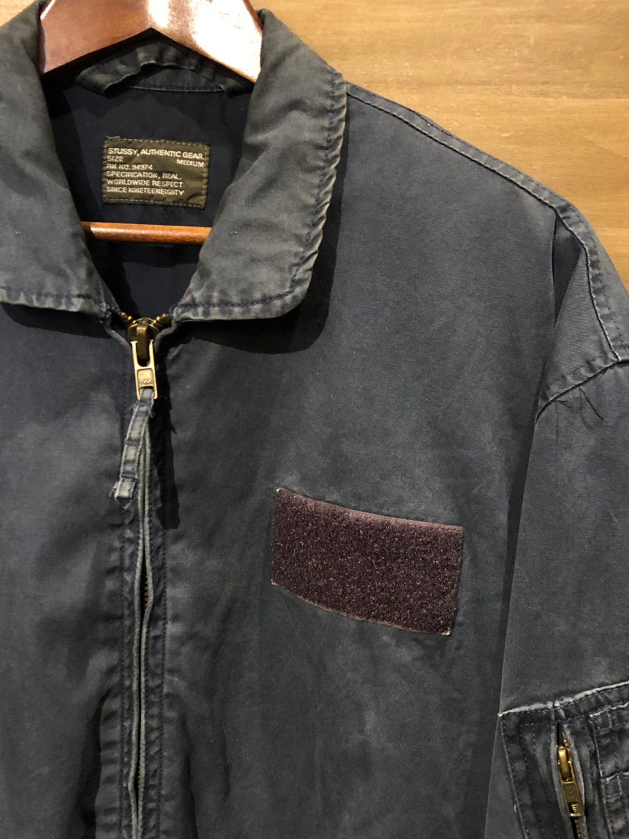 ジャケット [XL] 90's STUSSY FLIGHT JKT