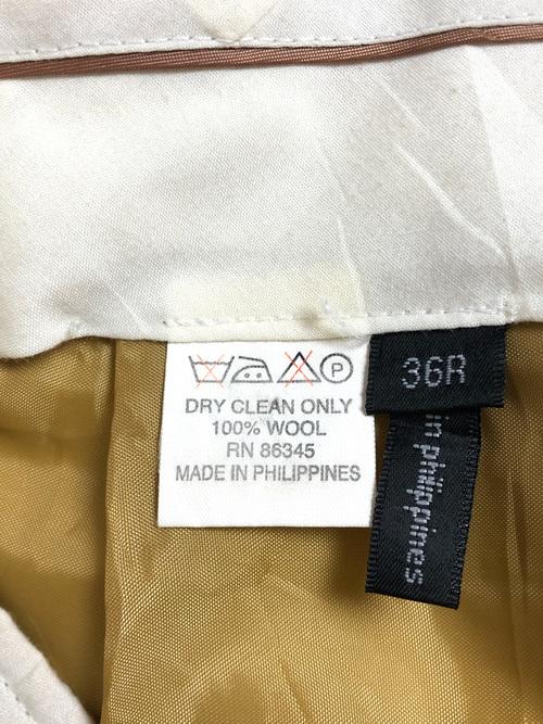 wool 2tuck slacks