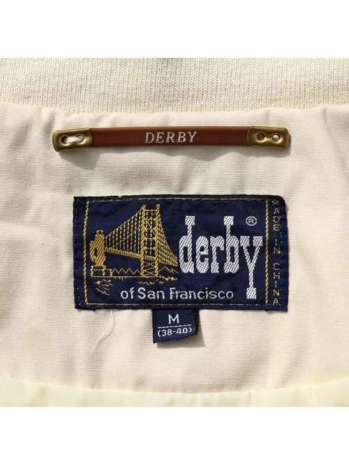 80's DERBY OF SAN FRANCISCO アイボリー ハリントンジャケット [M]