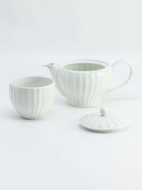 丹羽茶舗セットA【ティーポット&カップ×ティーバッグ3種(各2個)】