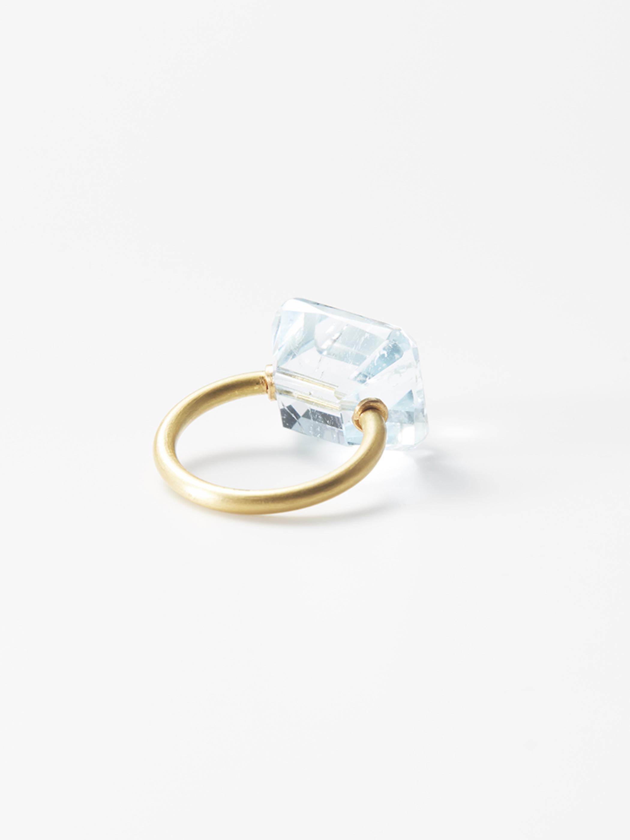 ETSUKO SONOBE ring/ブルートパーズ