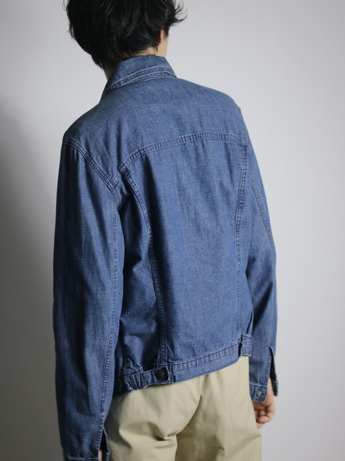 1990's Levi's Europe Cotton Tracker Jacket 藍染 / Made in Tunisia