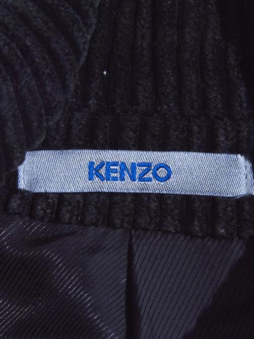 "1990s ""KENZO"" corduroy 2piece setup -BLACK-"