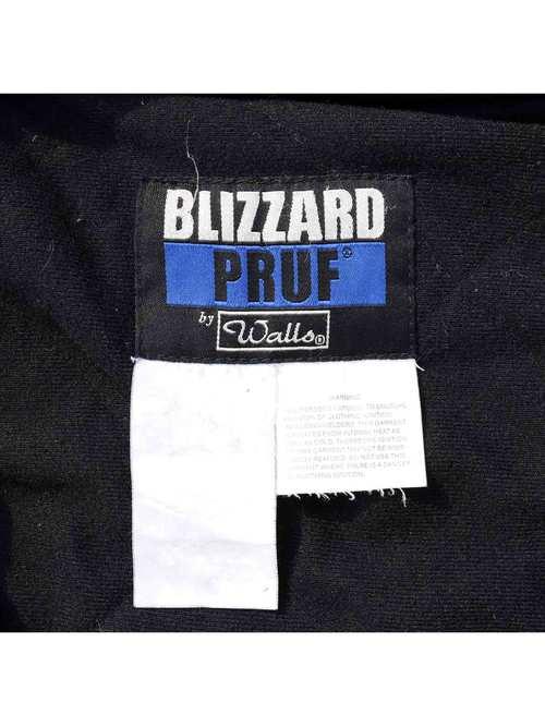 00's WALLS BLIZZARD PRUF ブラック コットンダック ジップアップパーカー [About M]
