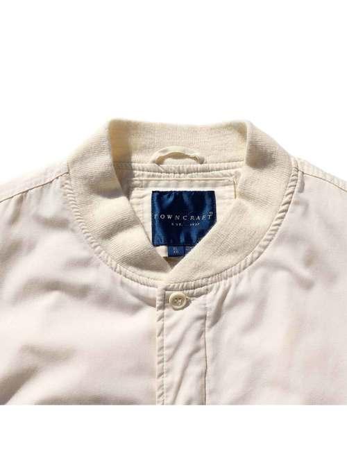 90's TOWNCRAFT オフホワイト カップショルダージャケット [XL]