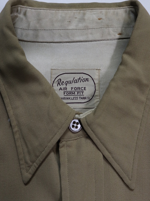 1940's WWⅡ USAF Regulation Rayon Shirts