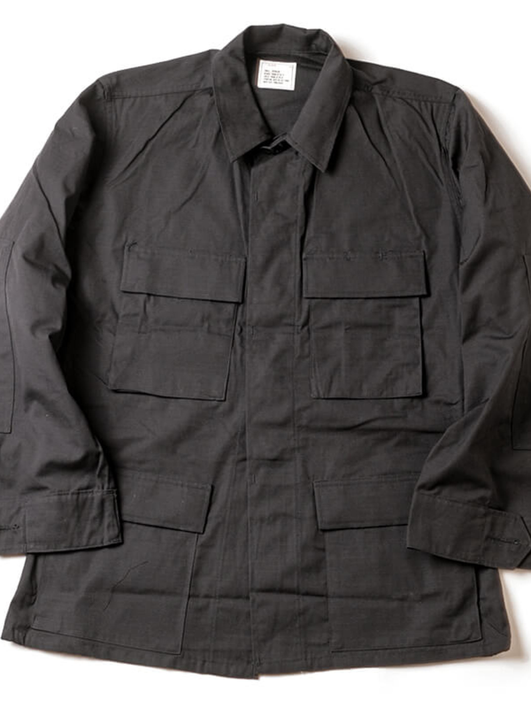 US Military / 1990's Deadstock / BDU Jacket / 357 Black