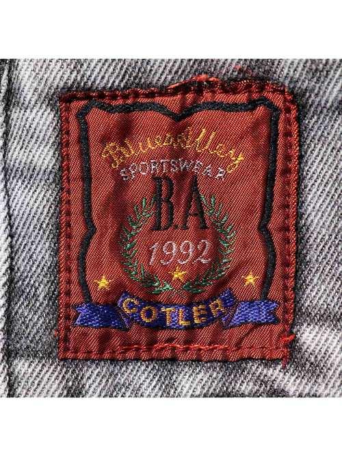 90's COTLER マルチポケット バギーデニムパンツ [W34]