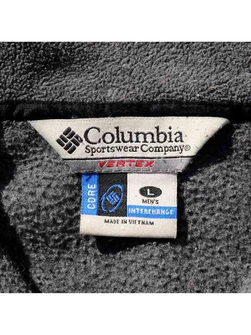 00's COLUMBIA ジップアップ ライナーフリースジャケット [L]
