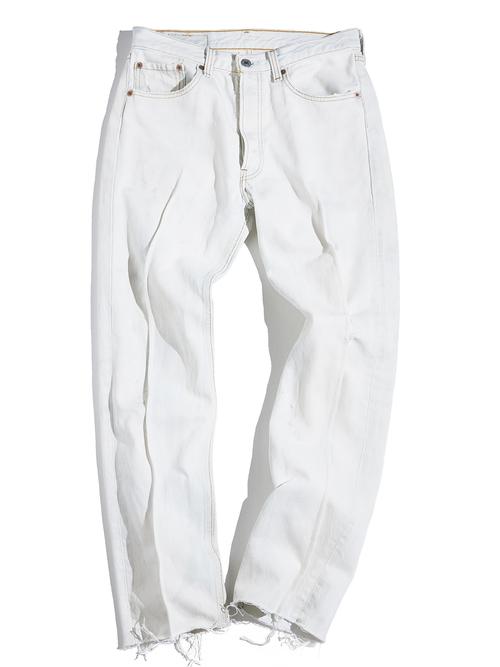 "1990s ""Levi's"" Lot.501 custom center crease denim pants #8"