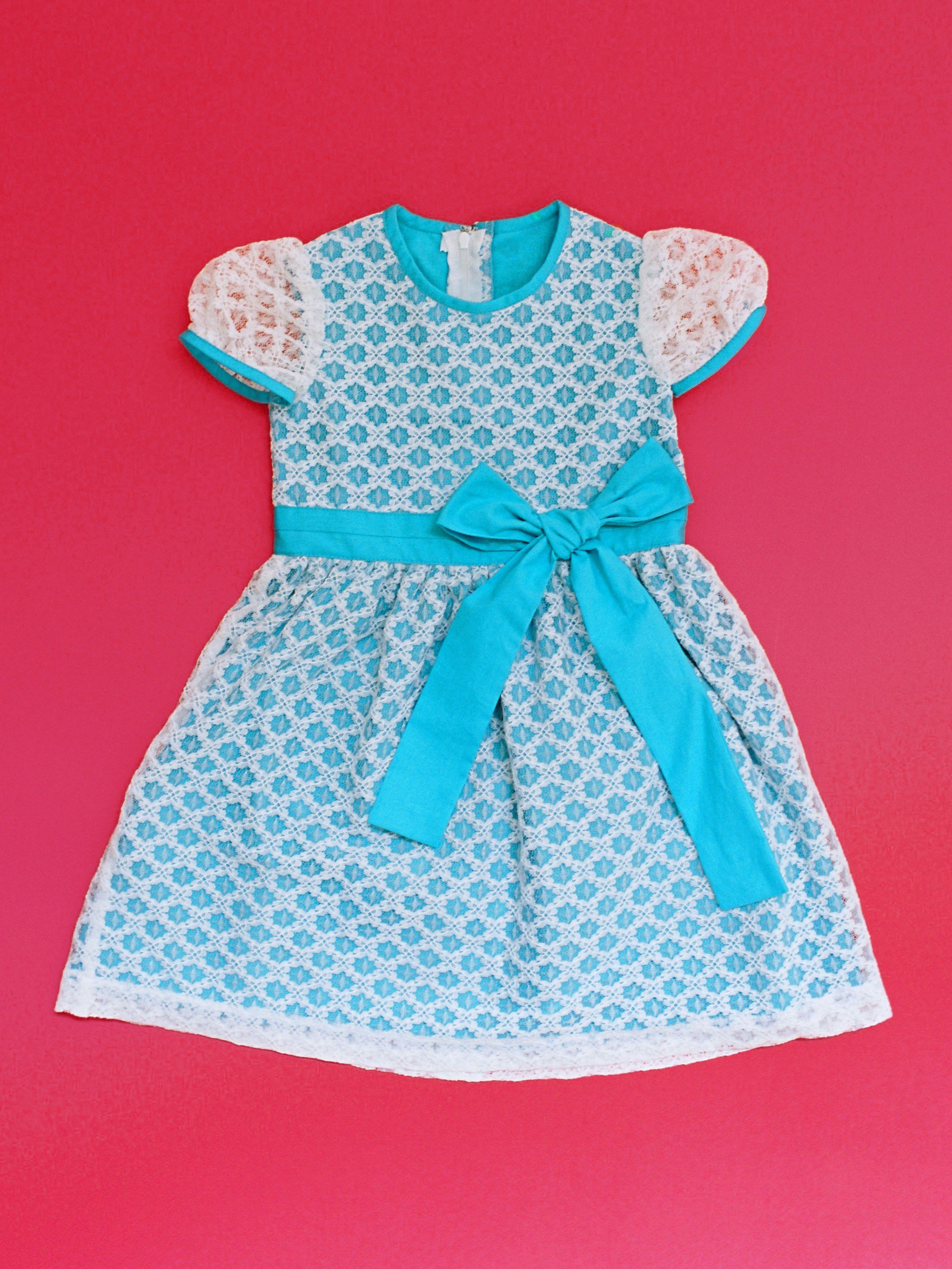 PRINCESS dress FRONT RIBBON