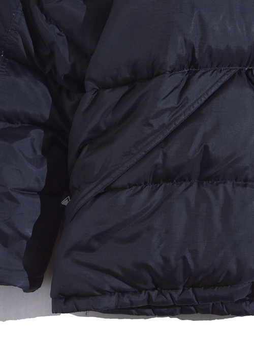 """1990s """"FIRST DOWN"""" down jacket -BLACK-"""