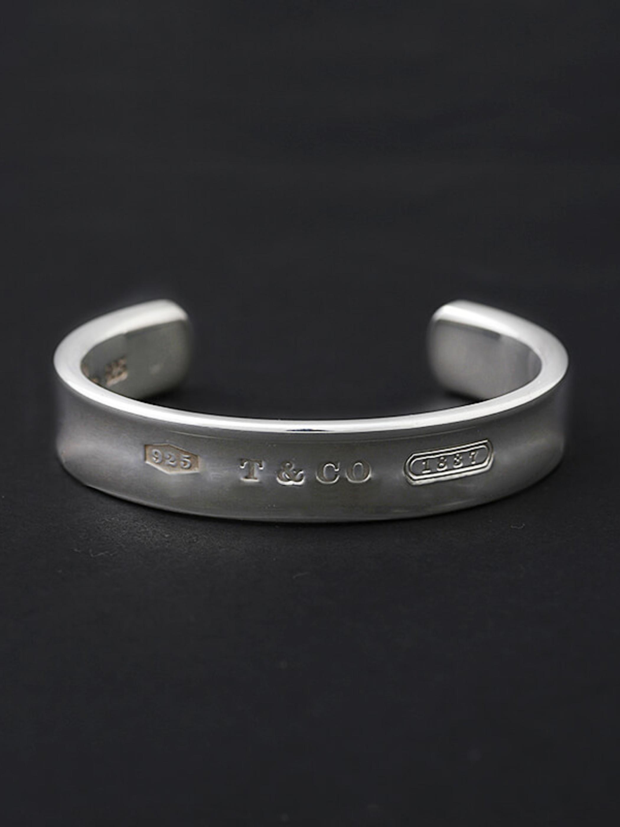 Used / Tiffany & Co. / Old Bracelet / Sterling Silver 925