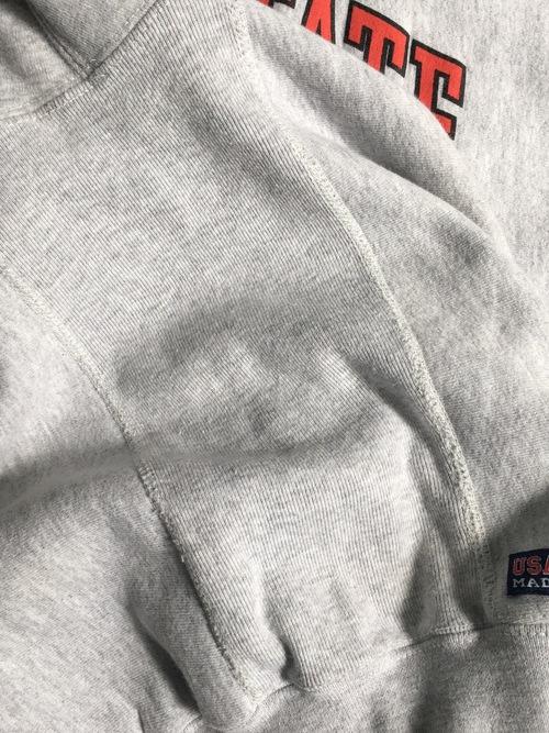 """KEENE STATE COLLEGE"" cotton sweat hoodie"
