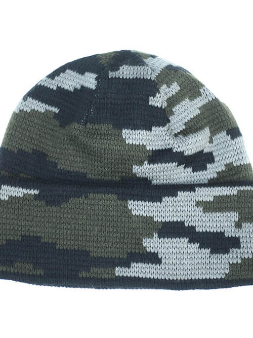 Russian Military / Deadstock / Camouflage Knit Cap