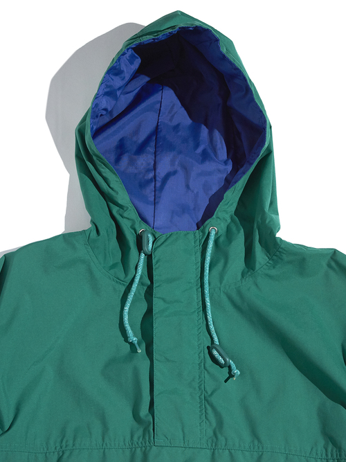 "1990s ""GAP"" nylon anorak parka -GREEN-"