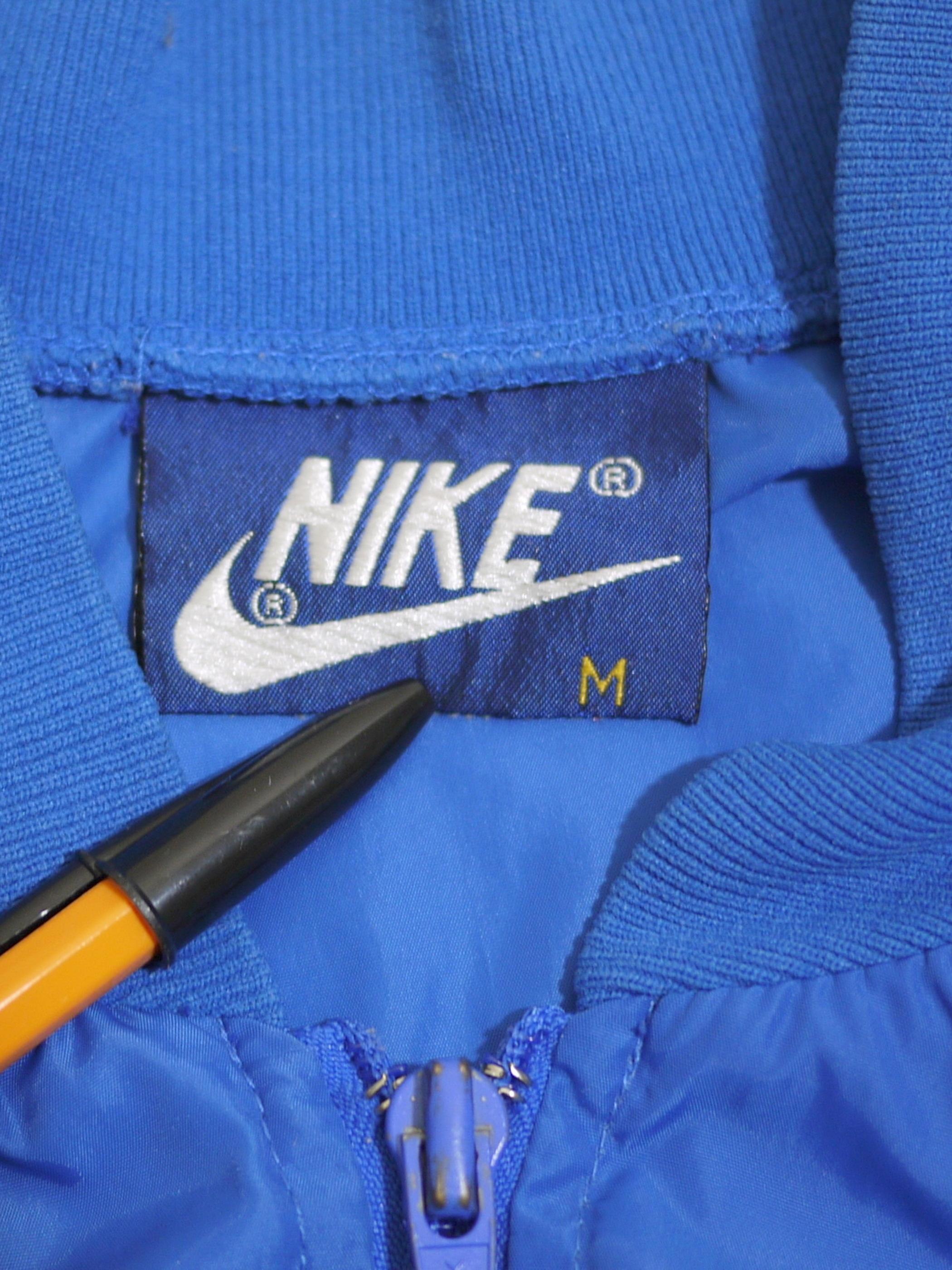 NIKE 1980's Nylon jersey SizeM