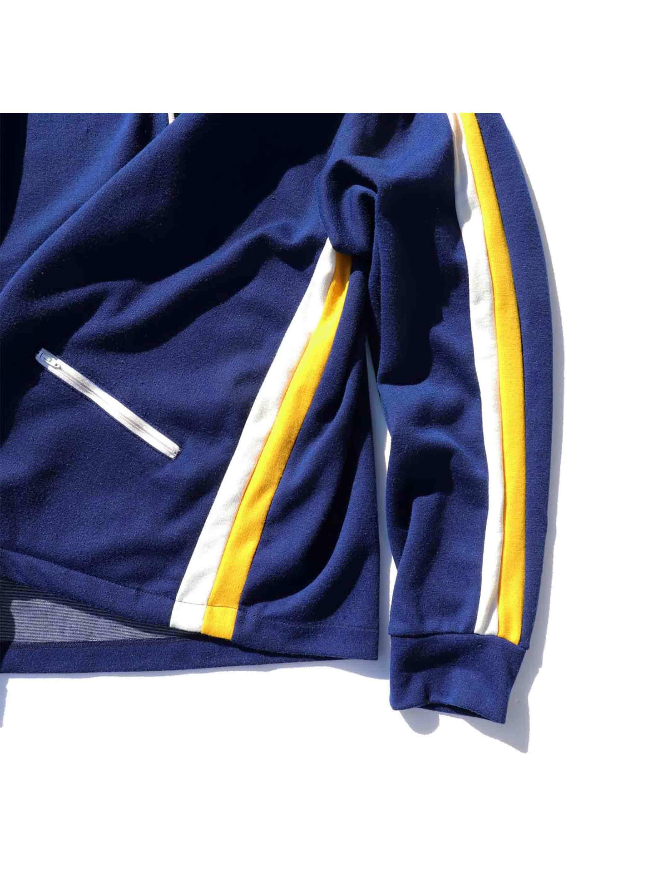 70's~ CROSS COURT サイドライン トラックジャケット [XL]