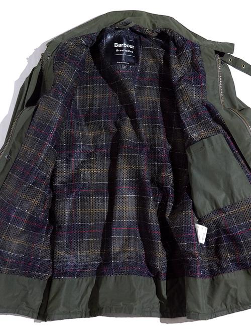 "2000s ""Barbour"" INTERNATIONAL motorcycle jacket -OLIVE-"
