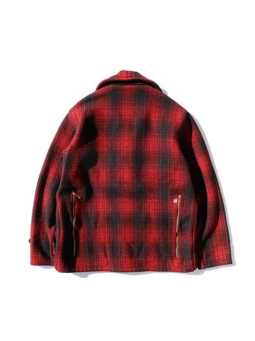 40's PROFILE バックジップ ウールハンティングジャケット [About 38~40]